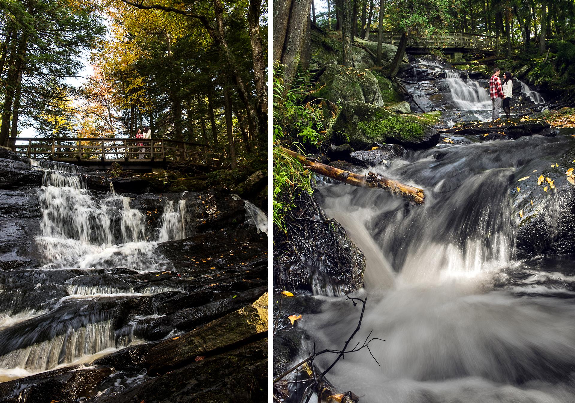 Will & Sarah | High Falls | Muskoka Engagement Photography03