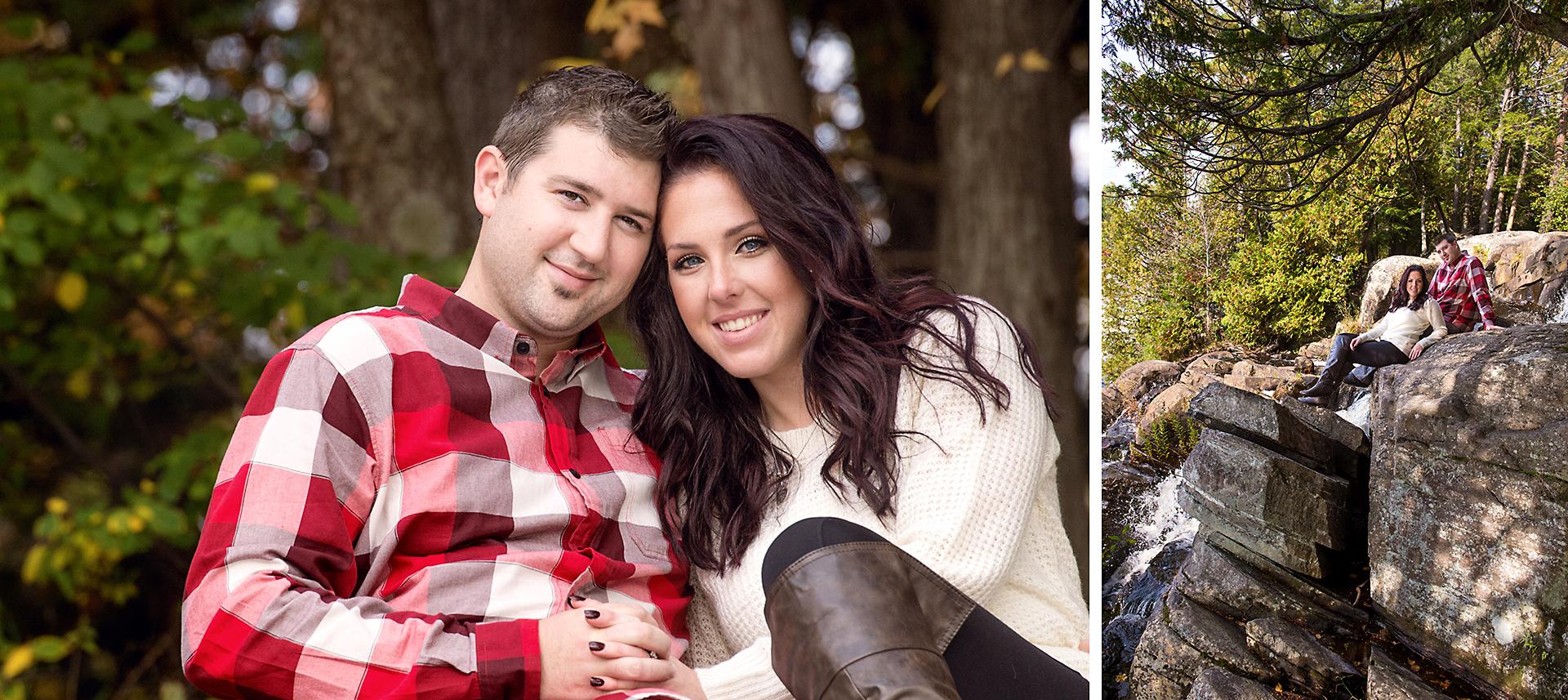 Will & Sarah | High Falls | Muskoka Engagement Photography07