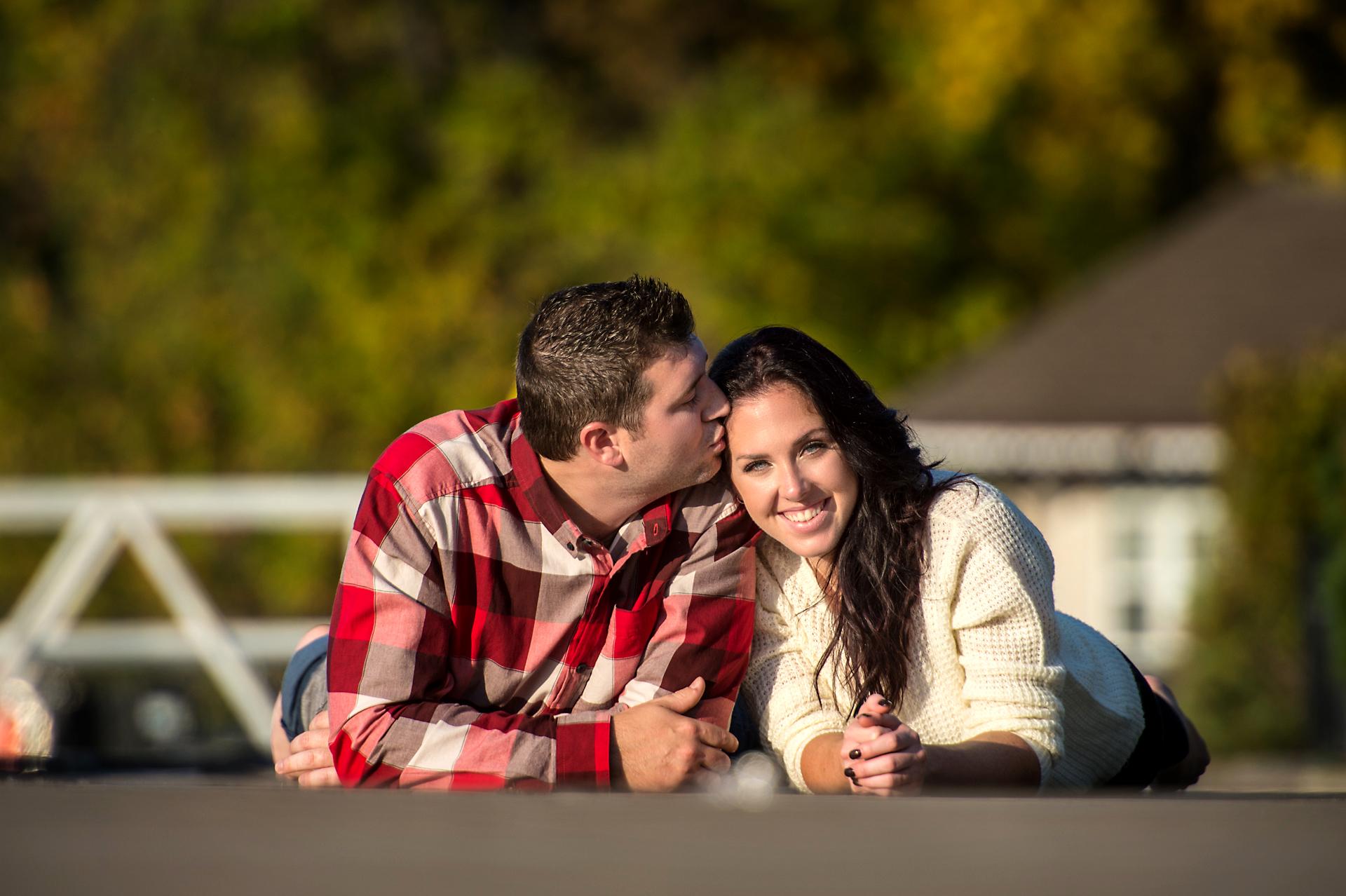 Will & Sarah | High Falls | Muskoka Engagement Photography14