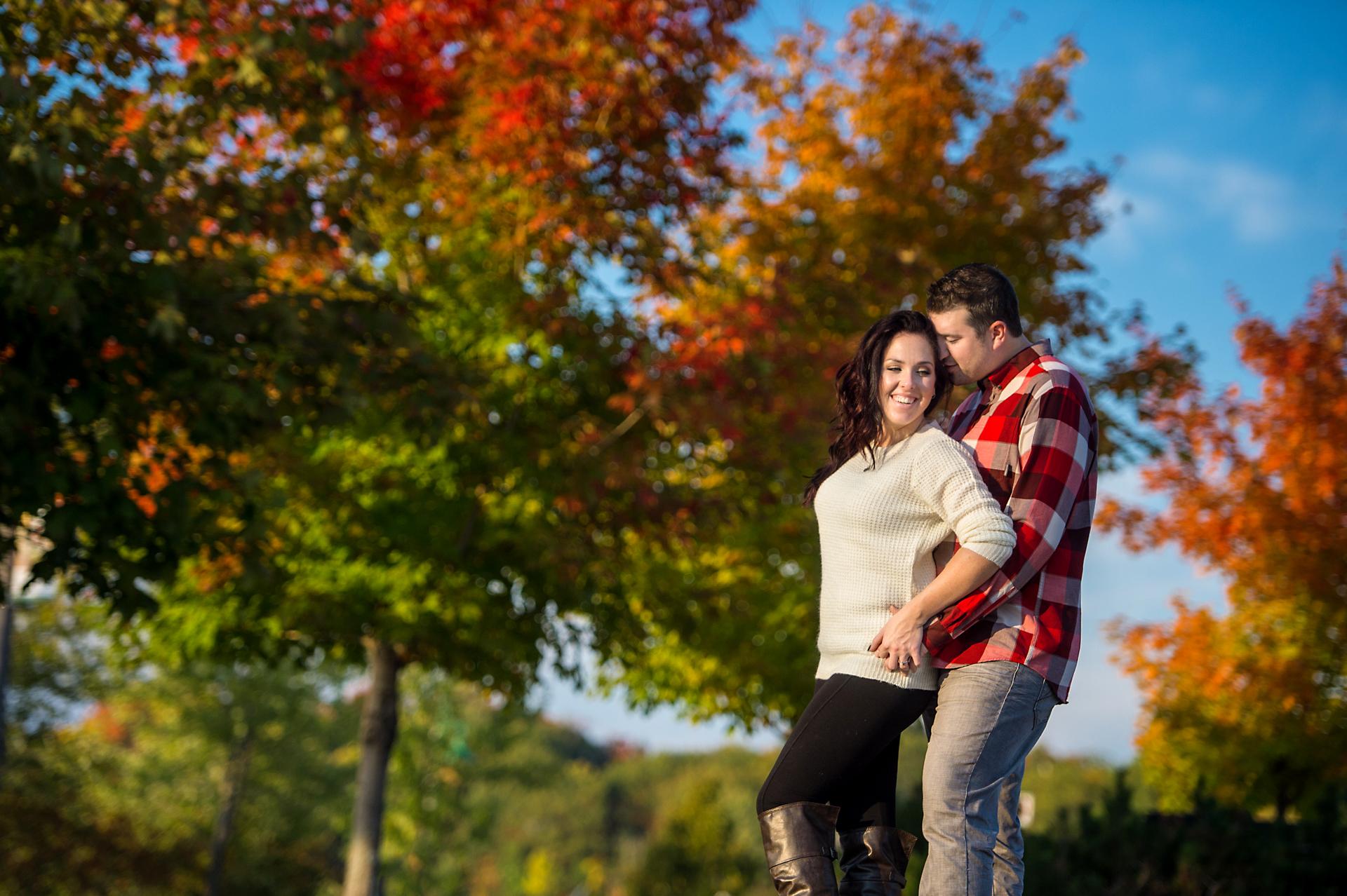 Will & Sarah | High Falls | Muskoka Engagement Photography17
