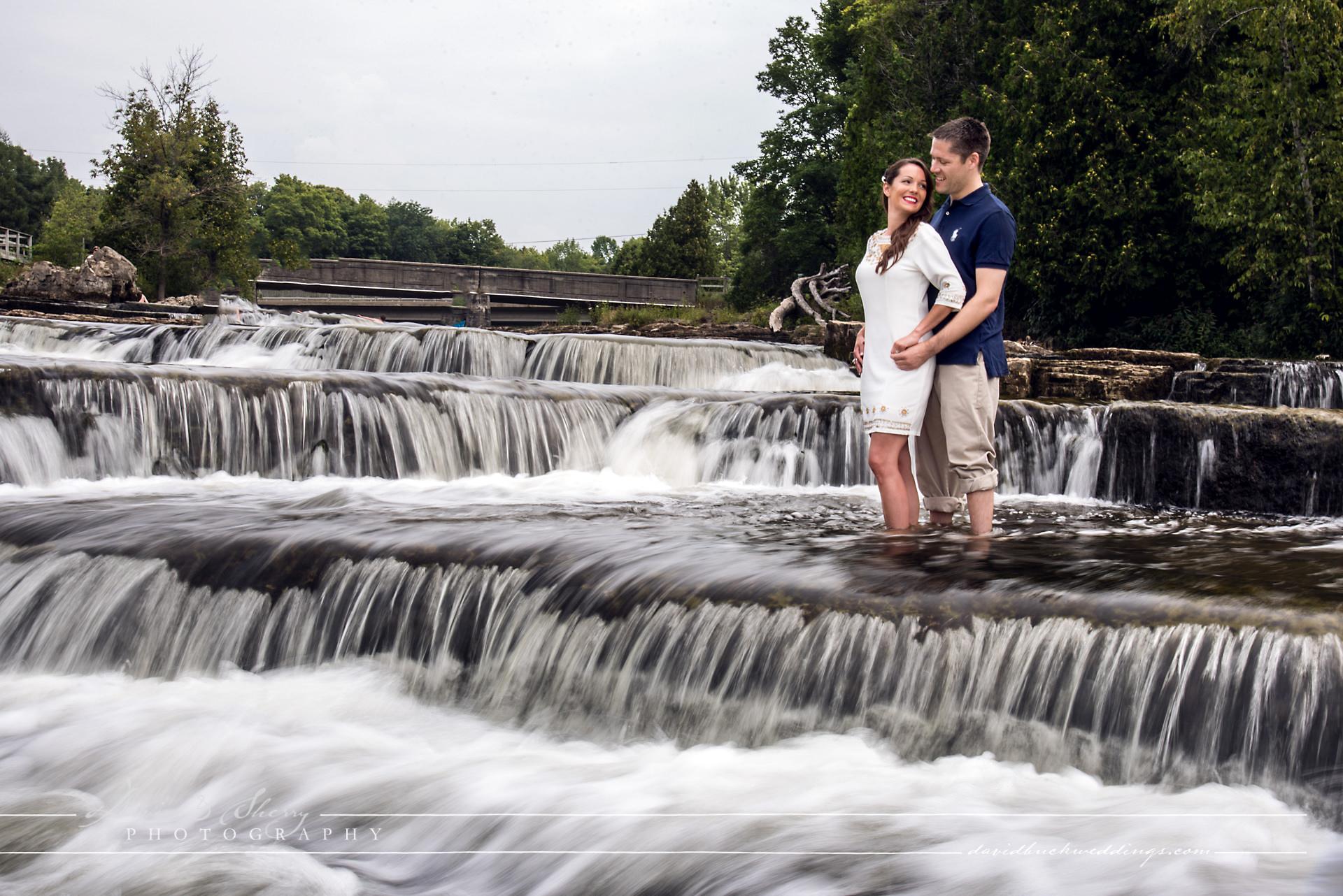 Sauble Falls Engagement Photos 01