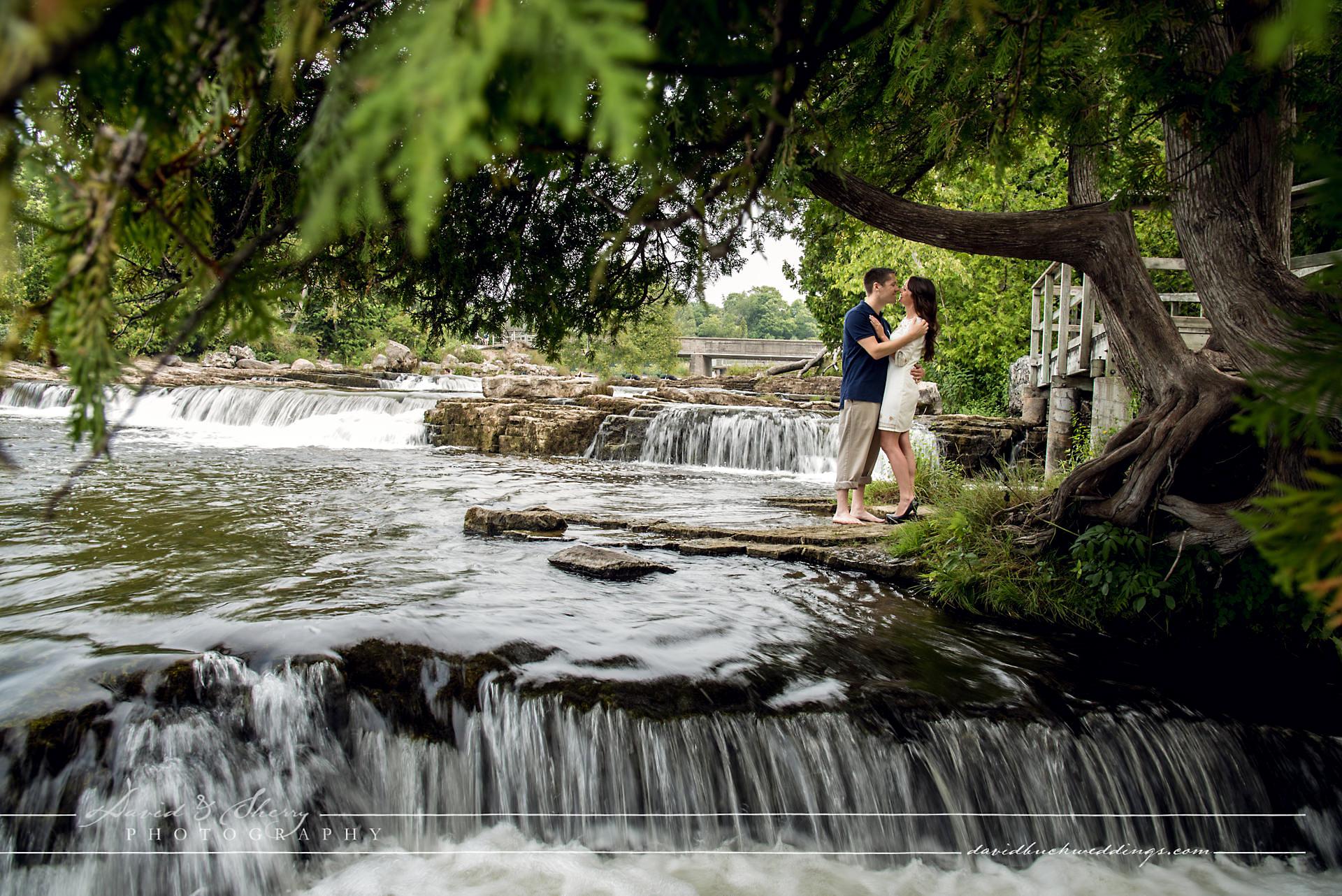 Sauble Falls Engagement Photos 04