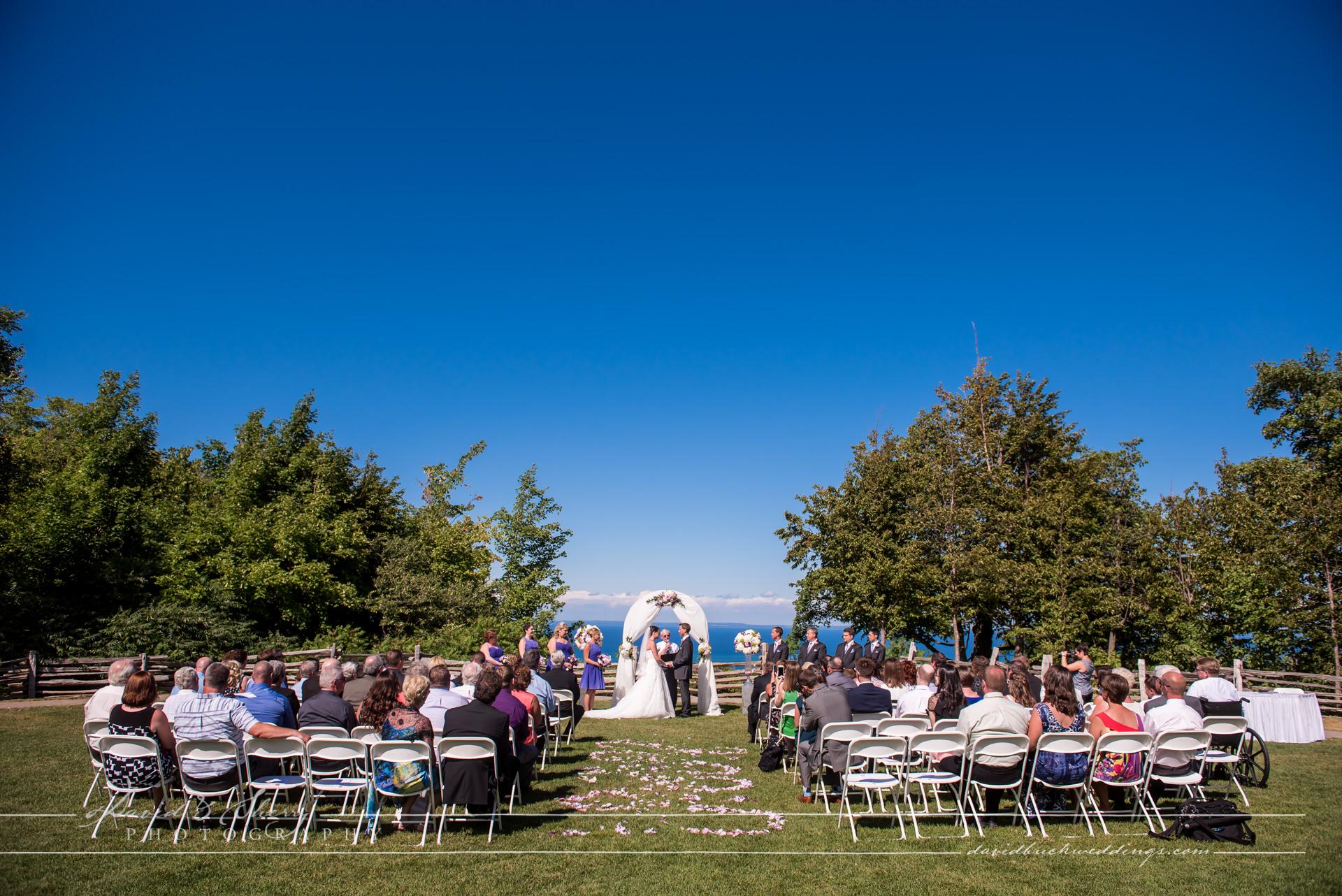 Blue Mountain Peak Wedding