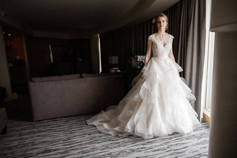 Bridal Suite at Fairmont Pacific Rim Vancouver